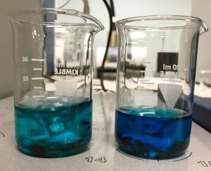 methylenebluebeakers