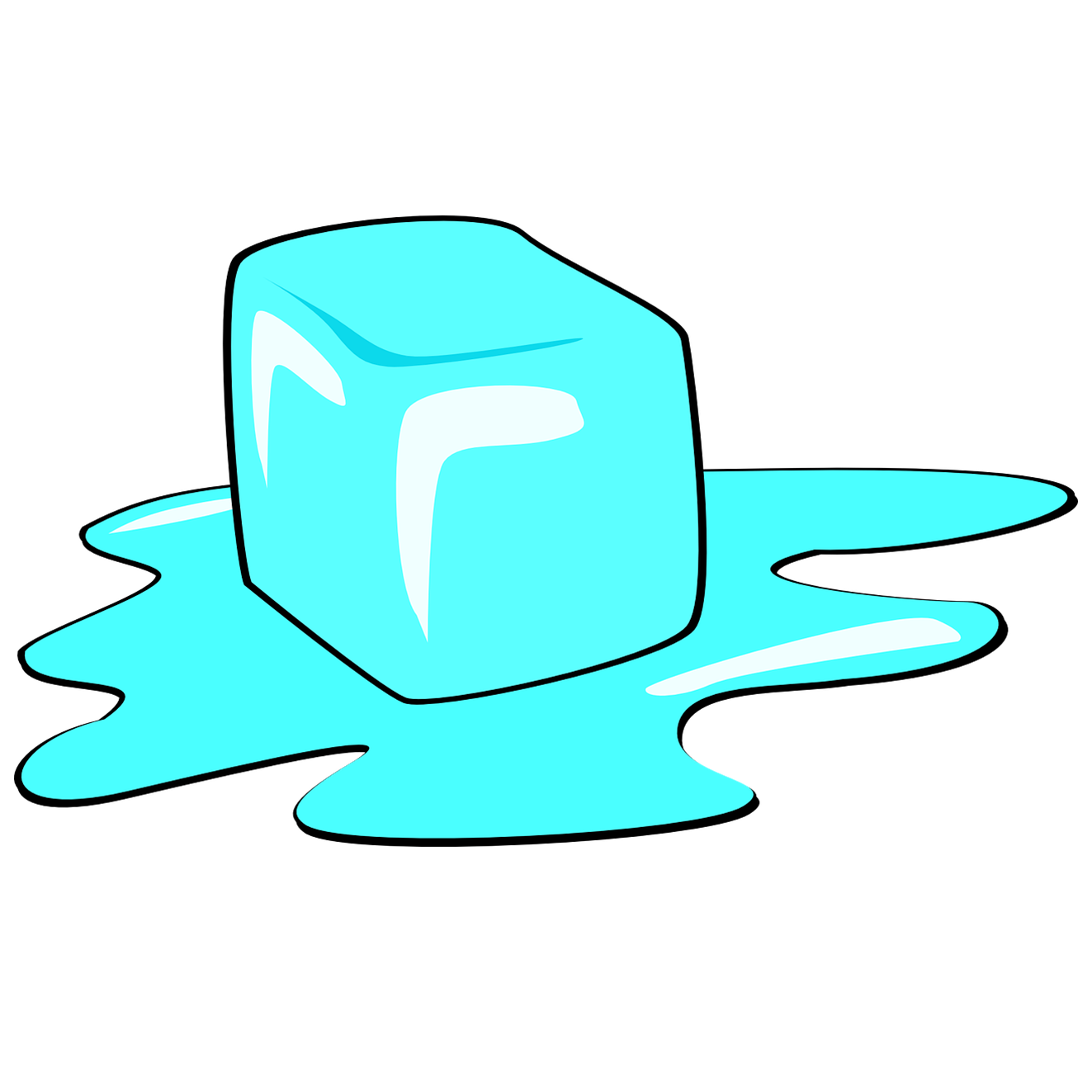 ice cube tray with a glass Royalty Free Vector Clip Art illustration  -vc016131-CoolCLIPS.com
