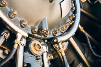 image of some metal engine parts
