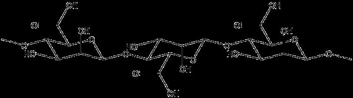 structure of the alginate molecule