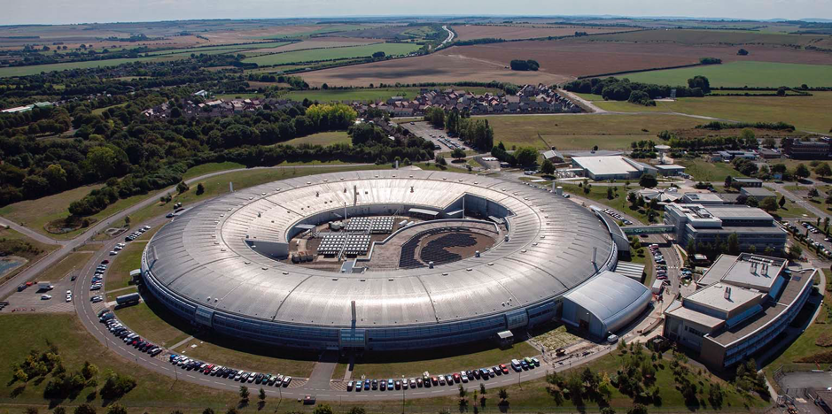 The diamond light source in Oxfordshire