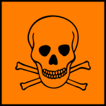 toxic chemical symbol
