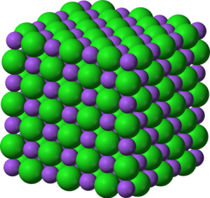 NaCl ionic structure