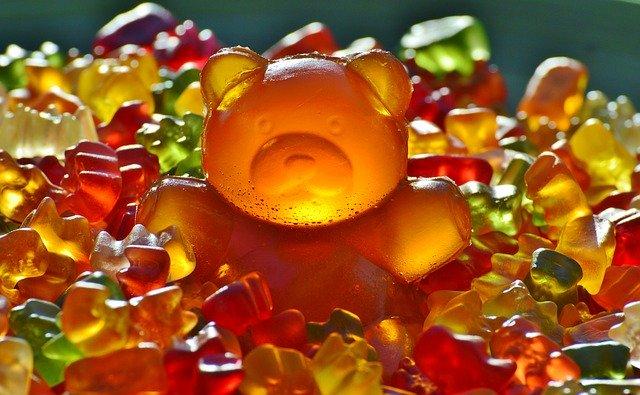 Image of gummy bears