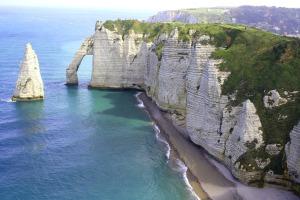 Photo of some white cliffs